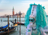What Happens in Venice... (Dwood Photography) Tags: what happens venice whathappensinvenice dwoodphotography dwoodphotographycom teal orange carnival portrait gondolier italy 2018 blue yellow shhhh costume