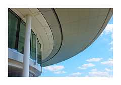 A Sky view (RapidSpin) Tags: x100t rapidspin offices window glass cladding normanfoster design curves structure building architecture mtc