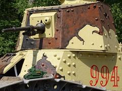 Cobi_2973_Renault_FT-17_1 (El Caracho) Tags: cobi building blocks bricks small army great world war tank renault ft17 wwi