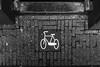 Yes (137/365) (Walimai.photo) Tags: black white blanco negro byn bw branco preto suelo ground floor tile bike bici bicicleta lumix lx5 panasonic street amsterdam holanda netherlands detail detalle