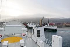 """Tranøy"" og ""Stetind"" (OlafHorsevik) Tags: tranøy stetind melbu fiskebøl reserveferge ferge ferga ferry ferja ferje torghattennord thn"