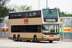 KMB VOLVO B9TL 12m-MU6285 (nood;e) Tags: kmb kowloonmotorbus hk hongkong bus volvo avbe adl alexanderdennis enviro500 b9tl mu6285