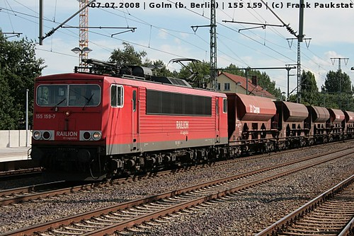 Railion 155 159 in Golm