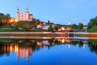 ABM (Another Blue Monday) / Evening in Vitebsk, Belarus
