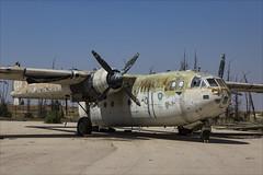 Nord 2501D Noratlas - 5 (NickJ 1972) Tags: israel israeli air force museum hatzerim iaf idf iasf 2018 aviation nord 2501 noratlas 055 4xfag