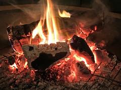 Coals (skipmoore) Tags: home fire pit coals embers