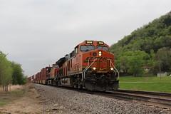 BNSF 3996 Take 2 (CC 8039) Tags: bnsf trains et44c4 ac44cw c449w genoa wisconsin