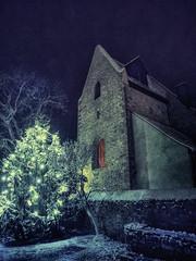 church'n'snow (zdm69) Tags: kirche schnee snow church olympus omd em1 zdm69 xmas tree nightshot