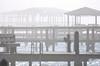 Foggy morning. (Jill Bazeley) Tags: boat docks houses piers ladder ramp jetty pier fog foggy roofs piling merritt island intracoastal waterway indian river lagoon brevard county space coast nikon d7200