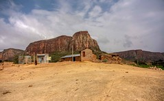 Remote Tigray (Rod Waddington) Tags: africa african afrique afrika äthiopien ethiopia ethiopian tigray landscape buildings remote mountains etiopia ethiopie etiopian culture cultural outdoor