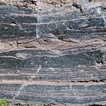 Rhyodacite vitrophyre (Llao Rock Rhyodacite, Holocene, ~7.8-7.9 ka; roadcut near Llao Rock, margin of Crater Lake Caldera, Oregon, USA) 12 thumbnail