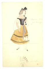 Kostume fra Det KongeligeTeater (Rigsarkivet - Danish National Archives) Tags: costumes drawing theatre aquarel teater kostumer kostumetegninger