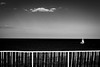 Alone (Kieron Ellis) Tags: sailboat boat railing dark contrast blackandwhite blackwhite monochrome