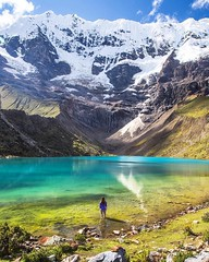 🌍 Humantay Lake, Peru |  Jacob Moon Photography (travelingpage) Tags: travel traveling traveler destinations journey trip vacation places explore explorer adventure adventurer
