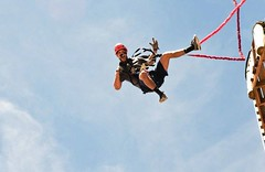 20 meter free-fall device expensive? Think again: http://j.mp/1ilUD42 #freefall #leapoffaith #basejump (Skywalker Adventure Builders) Tags: high ropes course zipline zipwire construction design klimpark klimbos hochseilgarten waldseilpark skywalker