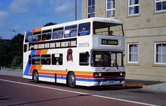 Ribble 2105 (JFR 5W) (SelmerOrSelnec) Tags: ribble stagecoach leyland olympian ecw jfr5w bolton blackhorsestreet bus