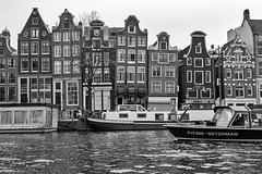 Crooked houses of Amsterdam (Brenda Harker) Tags: iamamsterdam leaninghouses canals netherlands amsterdam