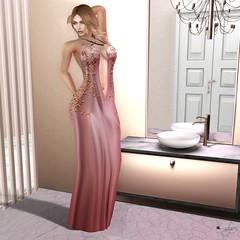 Sakura (Algezares (III)) Tags: secondlife sensual lelutka maitreya mesh ghee gown maxidress elegant sense