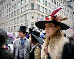 On The Avenue (Easter Parade #12) (Anne Marie Clarke) Tags: easter easterparade costumes theatrical turnofthecentury fifthavenue