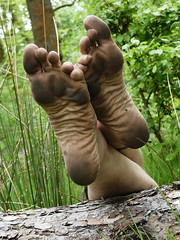Natural soles (Barefoot Adventurer) Tags: barefoot barefooting barefoothiking barefooter barefeet barefooted baresoles barfuss blacksoles earthsoles earthing earth earthstainedsoles energy texture healthyfeet leathersoles livingleather leathertoughsoles toes toughsoles tough wrinkledsoles woodlandsoles connected callousedsoles soles strongfeet stainedsoles happyfeet hardsoles