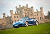 Porsche 996 Carrera 4 S Convertible, Lowther Castle, Penrith, Cumbria (TomScottPhoto) Tags: 911 porsche carrera 4s 4 automotive penrith cumbria lowthercastle lowther sunset convertible 996 turbo castle architecture lappis blue 2004 s drop top cabriolet strasse leeds