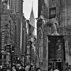 Complexity    Energy (JamesAnok    ThetaState) Tags: artdeco chryslerbuilding blackandwhite monochrome streetphotography streetscene newyork