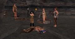 Avilion Nexus - Rogue ANI (Osiris LeShelle) Tags: secondlife second life avilion nexus medieval fantasy combat rogue ani initiative stone age cave murder cases solving fun