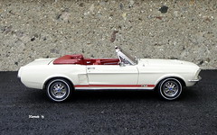 1967 Ford Mustang GT Convertible (JCarnutz) Tags: 124scale diecast danburymint 1967 ford mustanggt