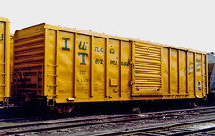 Illinois Terminal Box Car 8127 (itcrrfan) Tags: illinoisterminal eastbeltyard box car springfieldillinois boxcar illinoisterminalrailroad