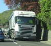 2Agriculture SL17 YHJ at Pant (Joshhowells27) Tags: lorry truck 2agriculture scania g450 wrexham bulk blower animal feed