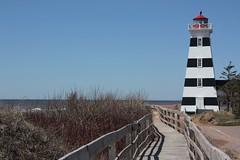 West Point Lighthouse- West Point, PEI (Craigford) Tags: westpoint pei canada lighthouse ocean boardwalk shore
