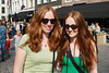 Different shades @ Redhead Day 2017 (RDS-art) Tags: redhead days 2017 red hair young ladies german gorgeous beauty smile olive green double portrait event breda netherlands rothaarige junge frauen hubsch schön rote haare grün pale skin leichte haut cheveux rouge rousse sourire filles belle doppel porträt deutsch pelirrojas capelli rossi ruiva sony a7 28mm prime