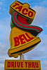 Taco Bell (TooMuchFire) Tags: tacobell vintage sign signs retro fastfood savannah oldsigns vintagesigns vintagesignage signporn signage typography georgia