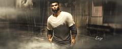 Walk.. (Enzo Santana) Tags: shirt treized men dark