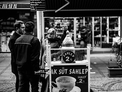 Photo (bmakaraci) Tags: burakmakaraci sony alpha a7ii konica 40mm f18 candid person primelens prime photograpy photographer lens new blackandwhite turkish street