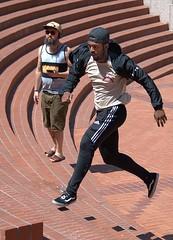 Running & Jumping (Scott 97006) Tags: guys man runner jumper steps parkour freerunning bricks