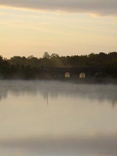 DSCF0610  Galloon Bridge in the morning mist