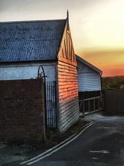 Sunset reflection (mark.griffin52) Tags: england dorset sturminsternewton sunset reflected sunlight wooden building