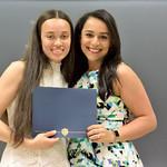 L-R: Kaleigh Wilkins: Community Action Award; Yara Mekawi