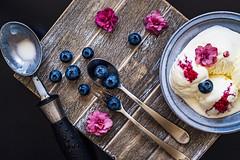 Blueberry icecream (Hanna Tor) Tags: food stilllife sweet berry tasty delicious icecream hannator