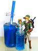 Blue Chu Jelly (hongzhizhu) Tags: loz legendofzelda twilightprincess agaragar agaragarjelly beverage drink figma link