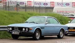 BMW E9 3.0 CSi (XBXG) Tags: bmw e9 30 csi bmwe9 bmw30csi coupé coupe blue bleu circuitpark zandvoort circuit nederland holland netherlands paysbas vintage old classic german car auto automobile voiture ancienne allemande deutsch vehicle outdoor