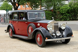 1935 Rolls-Royce 25/30 AOU 797