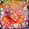 Bubblicious XXI (Ross Studio) Tags: red yellow orange black circles bubbles background abstract design backdrop artistic wallpaper decoration texture pattern art decorative color illustration colorful contemporary paint grunge wave swirl messy grungy graphic anthonyross publicdomain abstractart abstractdesign backgrounds backdrops bright digitalillustration energy ethereal geometric sphere vibrant vivid wild