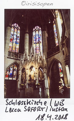 Schlosskirche # 068 # Leica SOFORT Fuji instax color - 2018 (íṛíṡíṡôṗĕñ ◎◉◎) Tags: leica sofort fujifilm fuji instax analog color irisisopen