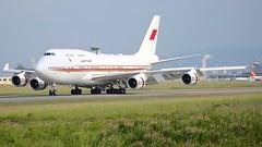 A9C-HMK (Breitling Jet Team) Tags: a9chmk bahrain royal flight boeing 7474p8 euroairport bsl mlh basel flughafen lfsb
