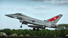 Eurofighter Typhoon FGR4 ZK318