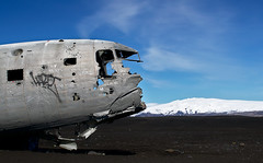 lost in nowhere (MW // Photography) Tags: iceland landscape planewreck plane wreck travel beach mountain