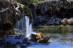Waterfall Ruidera (Peideluo) Tags: waterfall spain nature parquesnaturales agua water aguaenmovimiento primavera paisaje roca cascada