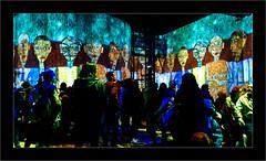 Série Atelier des Lumières : N°5 - Les  Gens - (Jean-Louis DUMAS) Tags: peinture abstract abstraction artiste artist artistique art peintre